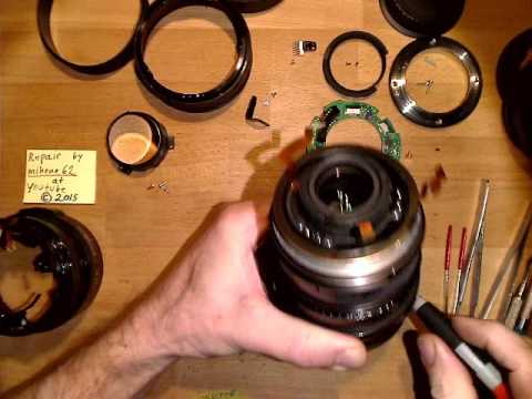 Loose front in Canon EF 24-70mm 1:2.8 L USM mark I __________Motion Lapse Film
