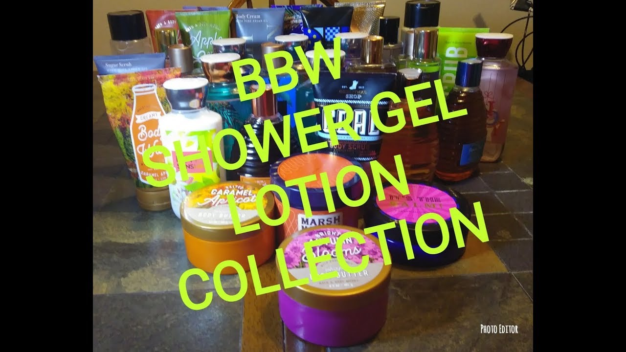 Bbw Lotion Shower Gel Collection 2018