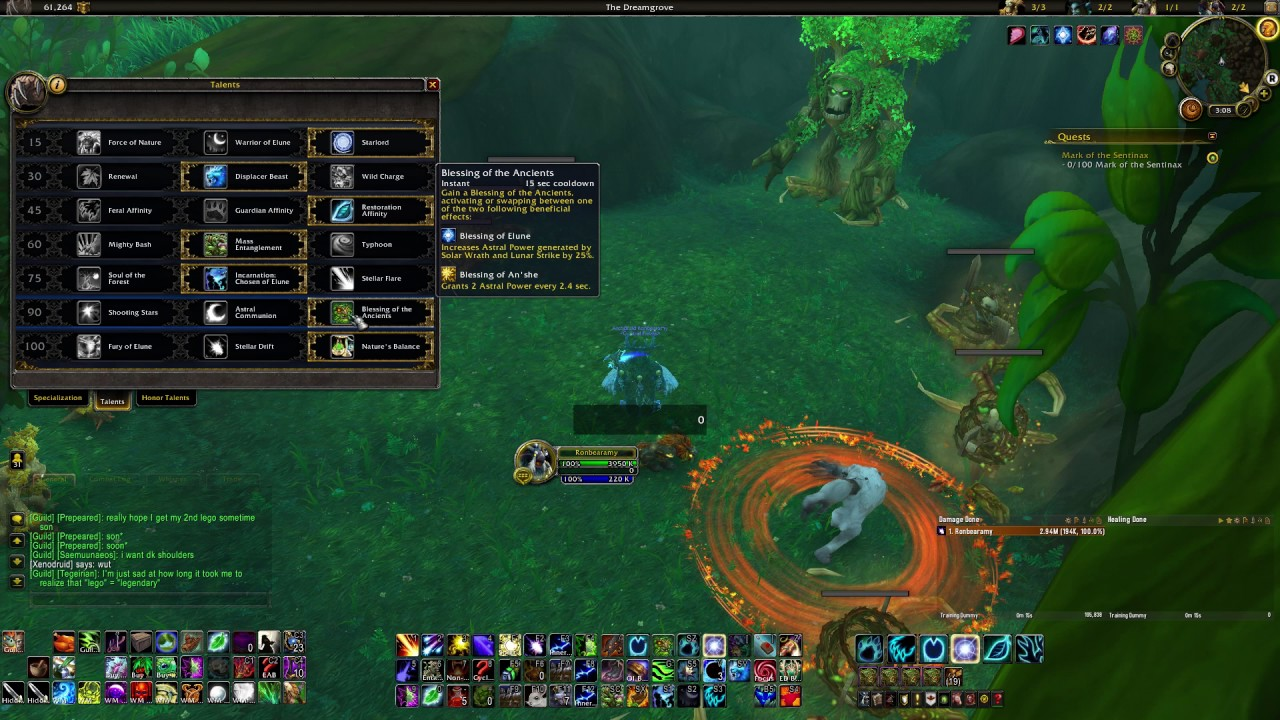 Balance Druid Pve Dps Guide 7 2 5 7 3 Update Available Youtube