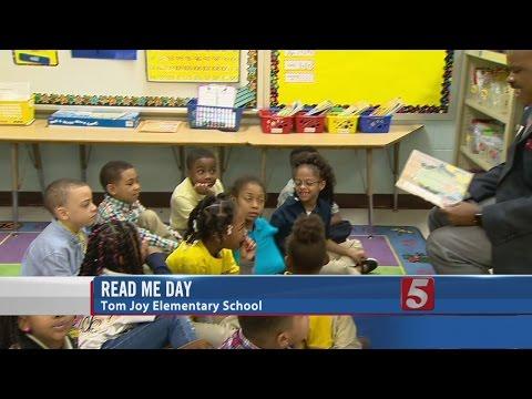 Tom Joy Elementary School Celebrates Read Me Day