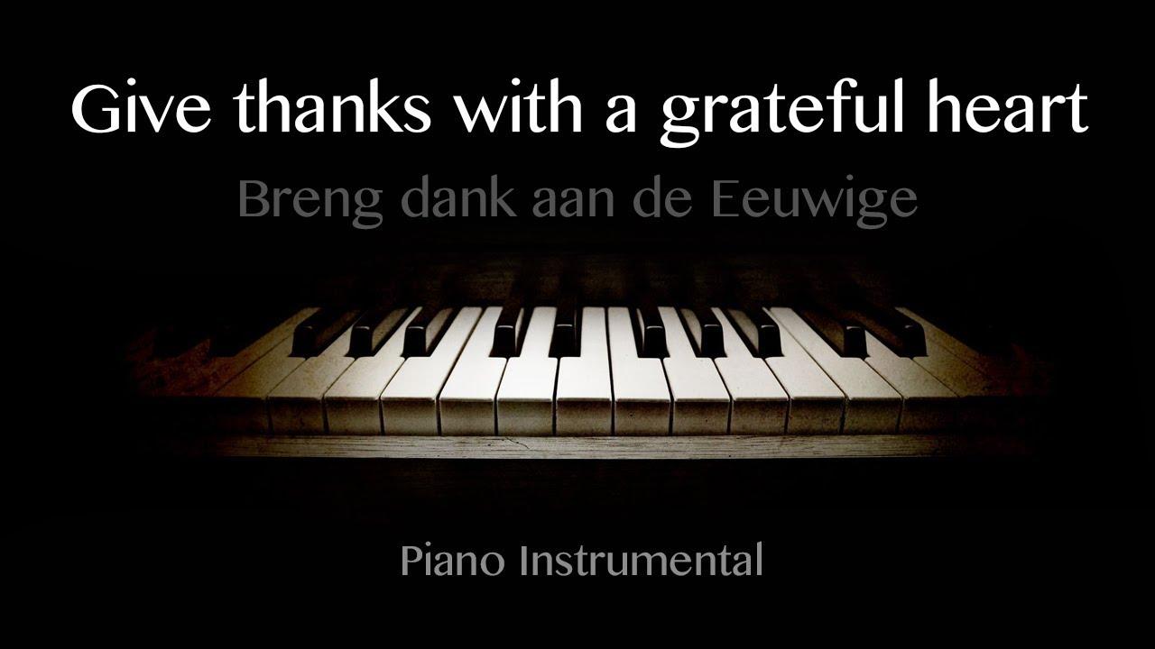 Dad Gracias | Piano Instrumental