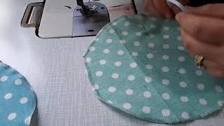Kavanoz kapağı yapımı