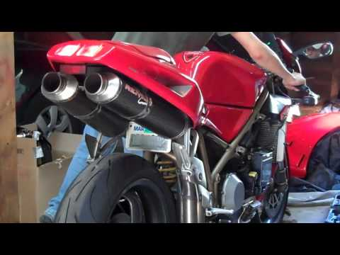 Ducati 748 - The Sound of Music
