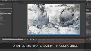 3D-Karte Weg Bilder (AE-Verschiebung) : Erstellen von 3D-Gelände