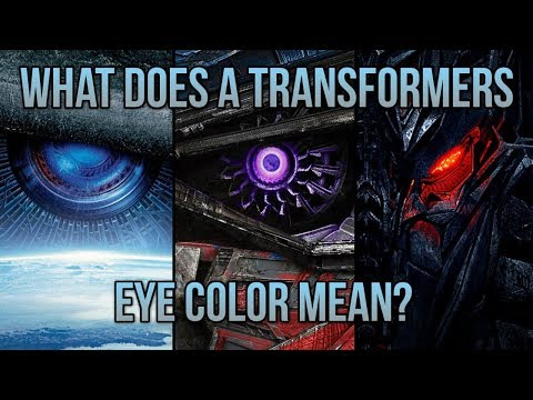 What Does A Transformers Eye Color Mean?