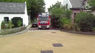 Brandweer Melissant met spoed naar ziekenhuis Dirksland (handmelder)