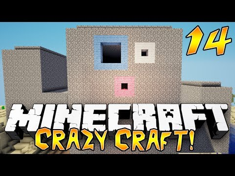 """GIANT CACTUS!"" - Crazy Craft 2.0 (Minecraft Modded Survival) - #14"