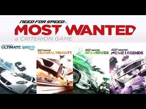 Need For Speed Most Wanted 2012 All Dlc Cars Xbox 360 Youtube