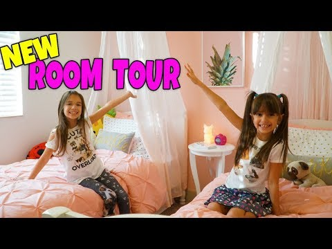 ALL NEW ROOM TOUR - BEDROOM MAKEOVER