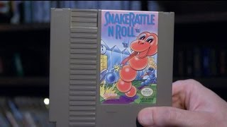 Snake Rattle N Roll (NES Video Game) James & Mike