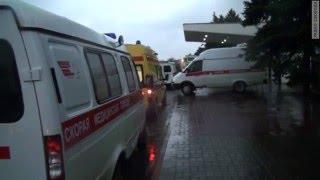 Аэропорт Ростова-на-Дону после трагедии