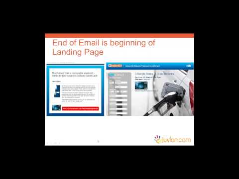 Emails and Landing Pages:  How Conversions Happen