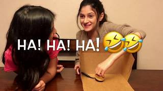 What's in the Box Challenge! Loser drinks the cup of Doom!
