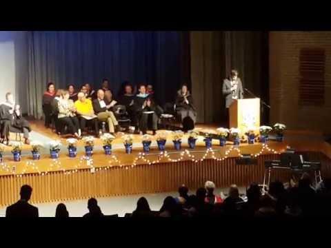 Commencement 2016 | Valedictorian Speech | Sir Wilfrid Laurier Collegiate Institute