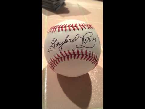 Gaylord Perry TTM AUTOGRAPH