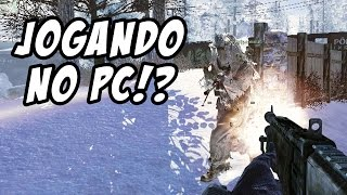 CALL OF DUTY MODERN WARFARE 2 - Jogando no PC!? (1080p 60fps Gameplay)
