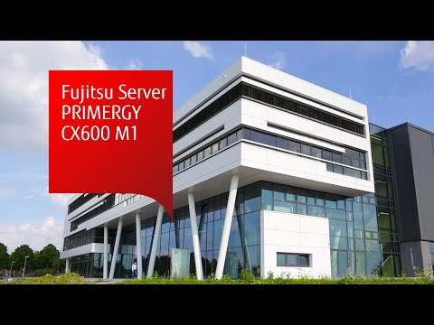 Fujitsu Server PRIMERGY CX600 M1 – For highly parallel computing