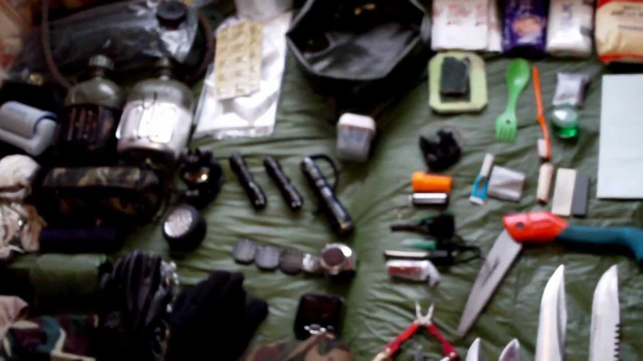Hiking Kit Bug Out Bag Bushcraft Gear Review Youtube