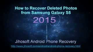 How to recover photos from Samsung S5
