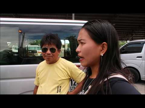 General Santos City, Philippines, Negotiating With a Tricycle Driver, Bulaong Bus Terminal