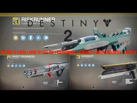 sunshot destiny 2 how to get