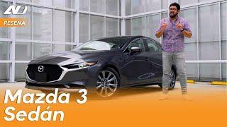 Mazda 3 Sedán ⭐️ - Se acerca a territorio premium | Reseña