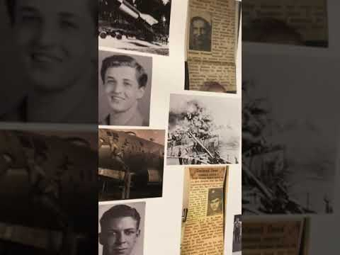 Fred - Tribute Wall To DeVilbiss Students Who Fought In WWII