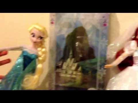 Trois poupées Disney La reine des neiges !!!!!!!!!!