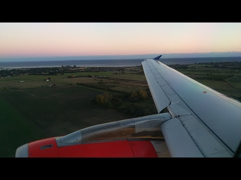 SAS Scandinavian Airlines Airbus A320  ✈ Munich to Copenhagen Kastrup Flight Video