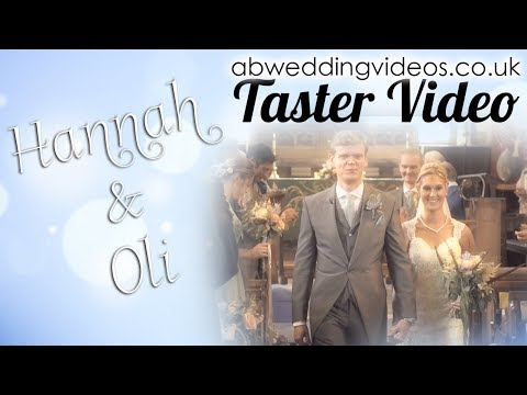 🎥abweddingvideos.co.uk | Hannah & Oli's Wedding Day - Taster Video | Andy Bird Wedding Videos