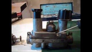 Автоматика газового котла орион, арбат ремонт.Терморегулирующий клапан.
