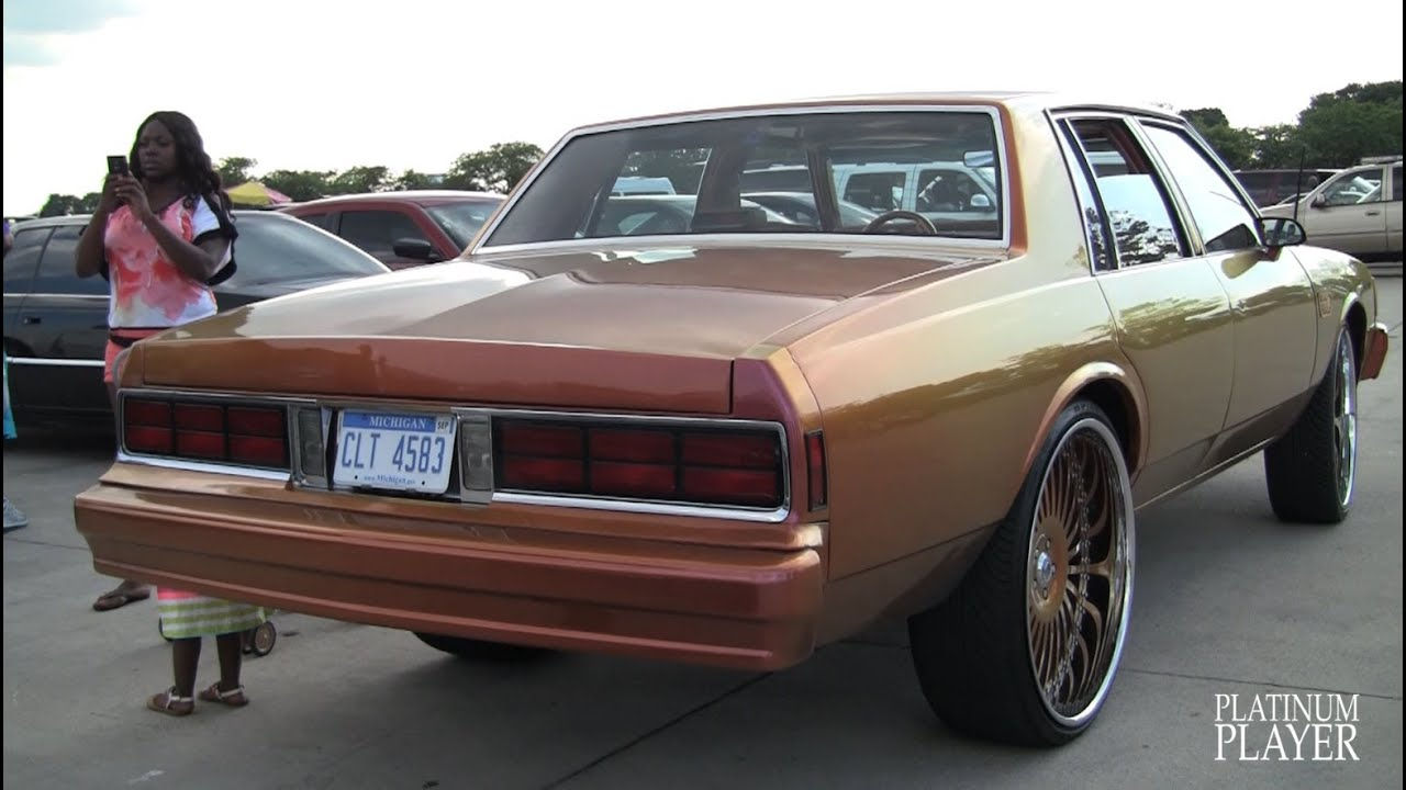 Chevy Caprice 1988 BOX CHEVY on 26 INCH ASANTI AF122- DETROIT - YouTube