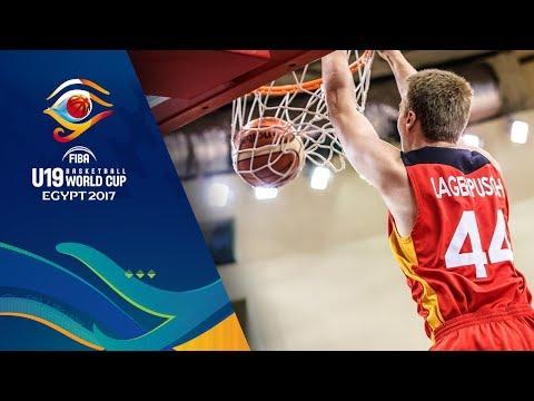 New Zealand v Germany - Full Game - Round of 16 - FIBA U19 Basketball World Cup 2017