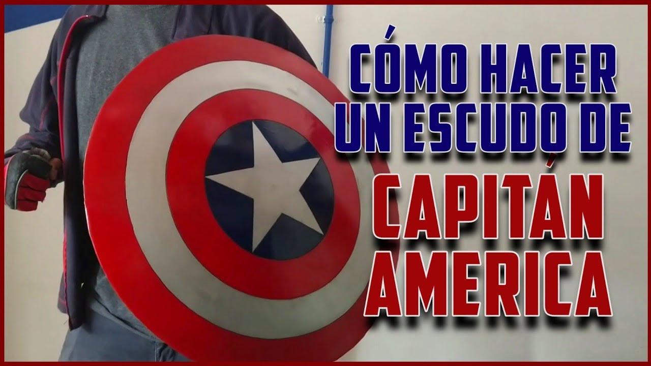 Cómo Hacer un ESCUDO de CAPITÁN AMÉRICA de Metal - Falcon and the Winter Soldier - DIY Metal Shield