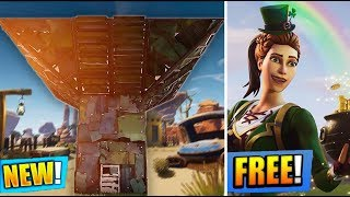 NEW 'PORT A FORT' GRENADE SOON & NEW 'SGT. Green Clover' FREE SKIN! (Fortnite Gameplay Live)
