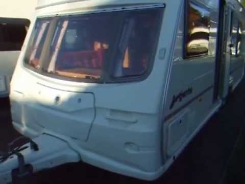 2004 Avondale Argente Twin Axle 4 Berth Caravan With Fixed Bed & Sep Shower Room