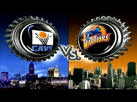 Cleveland Cavaliers vs. Golden State Warriors (NBA Courtside 2002)