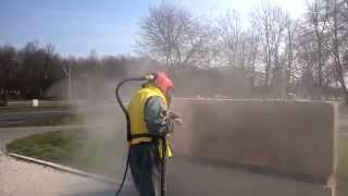 Cleaning stone,sandblasting sandstone Manchester Leeds  York Liverpool London
