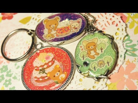 How to Make Metal Charms with NO RESIN!