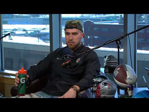 Chiefs TE Travis Kelce on The Dan Patrick Show | Full Interview | 1/31/18