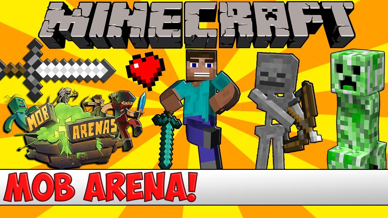 Minecraft Bukkit Plugin - Mob Arena - Tutorial - YouTube