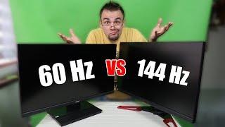 Monitor 144Hz VS 60Hz - ZOBACZ różnicę!