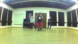 """Tyga """"Faded"""" Choreography by S@NA"""