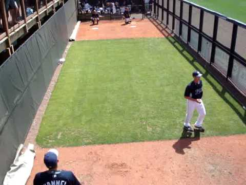 Drunk girl thinks Rays' pitcher Grant Balfour is hot. Spring Training 2009. Hilarious.