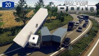 OTR I Scania R410 🚚 Schwerer Lkw Unfall auf der A20 🔵 #02 ON THE ROAD [Deutsch/HD]