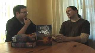 Brandon Sanderson interview with Peter Orullian, Part 2