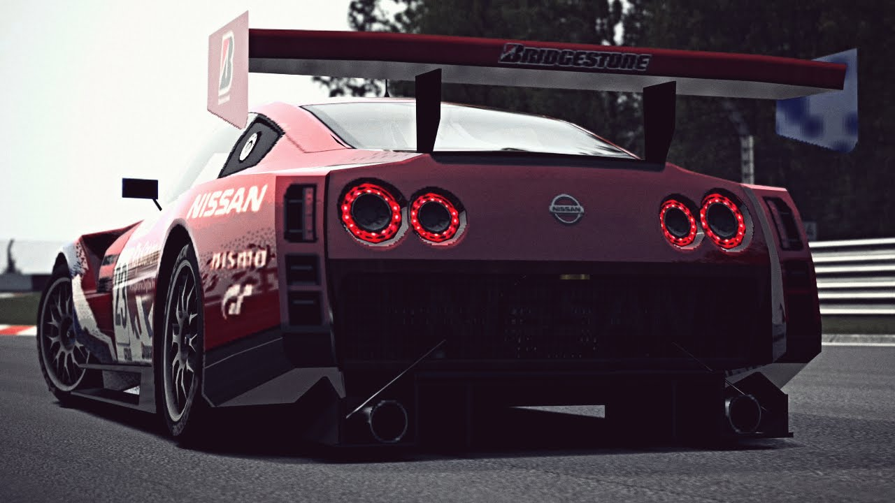 Nissan Gt R Concept Lm Race Car Exhaust Video Youtube