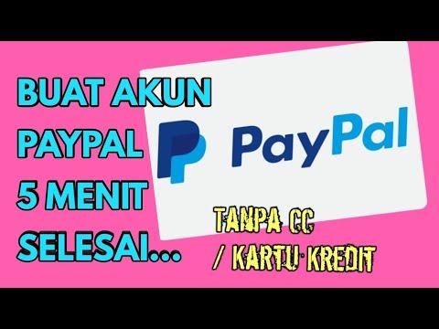 CARA DAFTAR AKUN PAYPAL GRATIS TANPA KARTU KREDIT HINGGA MENGHUBUNGKAN KE BANK LOKAL INDONESIA