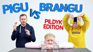 PIGU VS BRANGU (team edition) | Lauritta | Pildyk ofisas