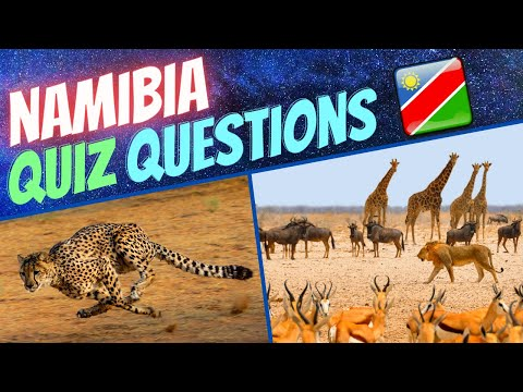 🇳🇦 Namibia General Knowledge Quiz   Trivia Questions and Answers with Facts (GK 2020)